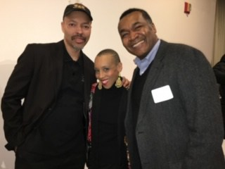 Jerry Craft, Andrea Pinkney, and Eric Velasquez