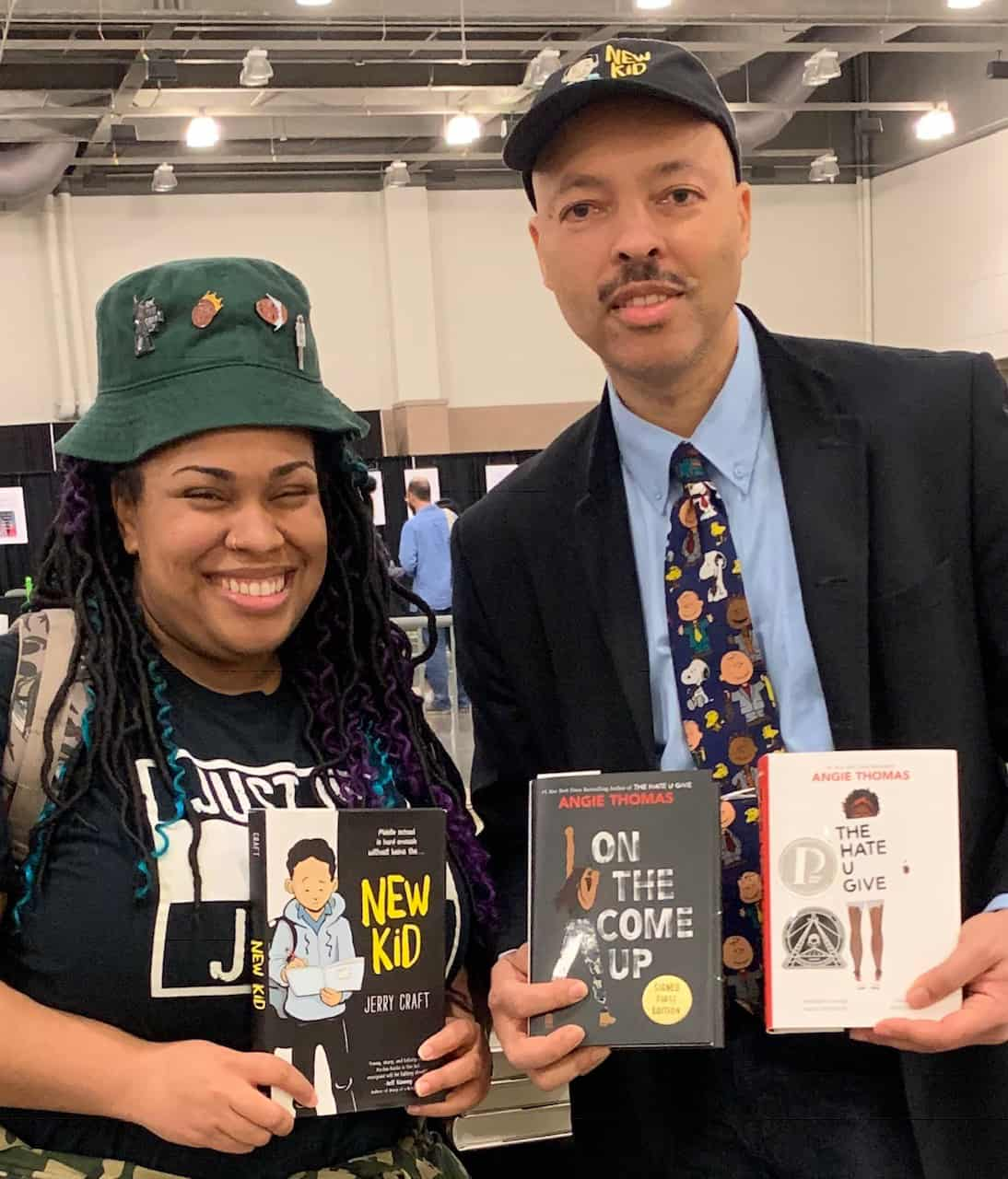 Angie Thomas and Jerry Craft