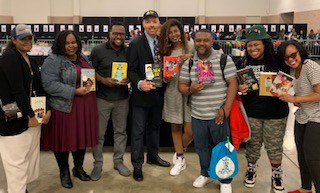 Vashti Harrison, Renee Watson, Justin A. Reynolds, Jerry Craft, Nic Stone, Lamar Giles, Angie Thomas, and Dhonielle Clayton