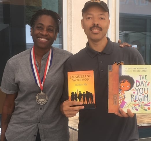 Jacqueline Woodson and Jerry Craft