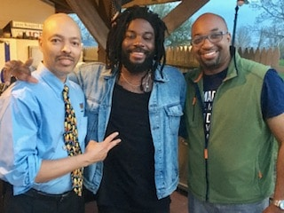 Jerry Craft, Jason Reynolds, and Kwame Alexander